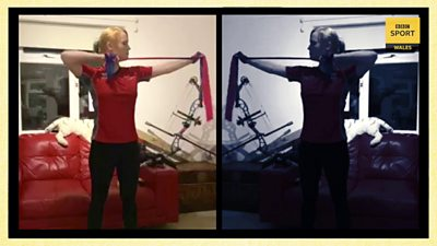 Paralympic silver medallist Jodie Grinham cannot do any archery during the coronavirus lockdown