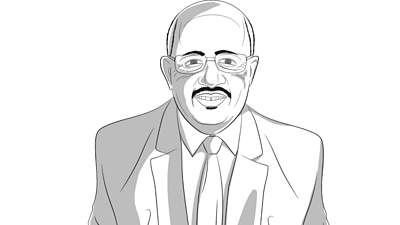 Illustration of Dr Adil El Tayar