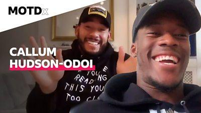 Josh Denzel and Callum Hudson-Odoi