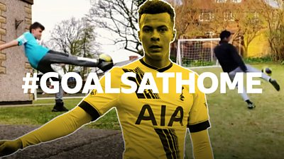 Your best Dele Alli volleys at home
