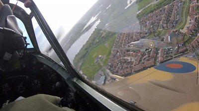 Captain Tom's RAF flypast