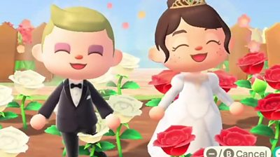 Nintendo wedding