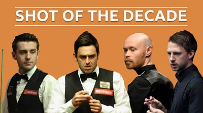 Vote for your World Snooker Championship shot of the decade