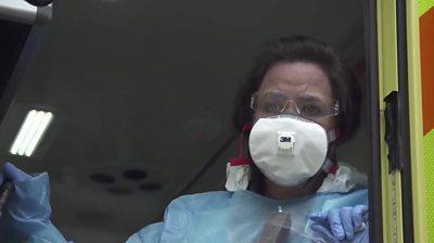 Paramedic Tina Brennan
