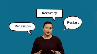 The BBC's Monica Miller explains the shape of a coronavirus recession.