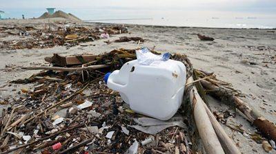 Plastic-litter