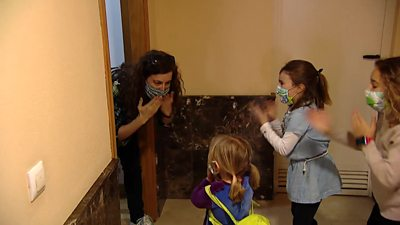Family reunites in Spanish city of Cuenca