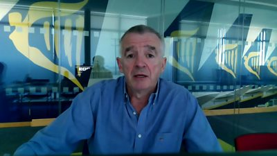 Ryanair Chief Exec Michael O'Leary