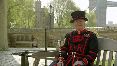 Pete McGowran, Chief Yeoman Warder at The Tower of London