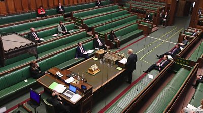 House of Commons in session