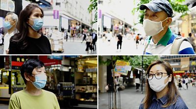 Hong Kongers give their reaction to law motion