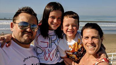 Shaun and family