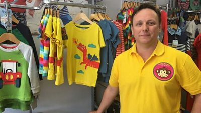 Justin Horton would like to know when he can reopen his Penarth shop