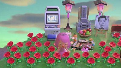 Isabella's shrine