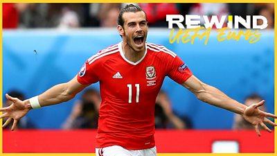 Gareth Bale scores opening goal from free-kick