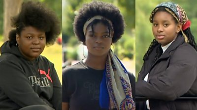 Three Black Lives Matter protest organisers reflect on their experiences growing up.