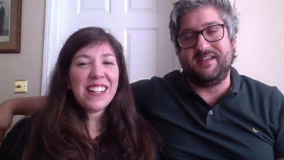Natasha Howard and Matt Murray