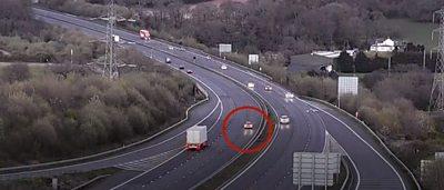 Nurse drives the wrong way down a motorway