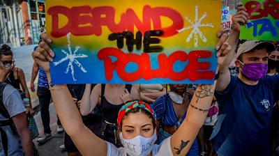 George Floyd protests: Have the police changed?