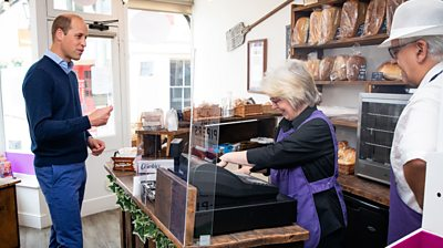 William and Kate visit Norfolk businesses hit by coronavirus lockdown