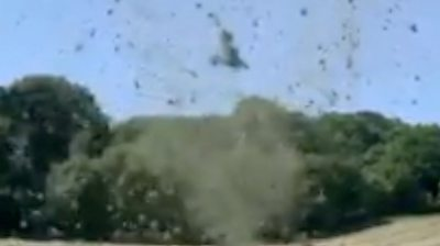 The dust devil whirlwind