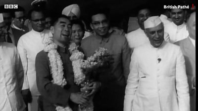 When India hosted China amid 1962 war tension