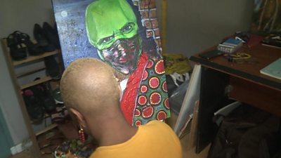 Zambian Artist Serah Chibombwe