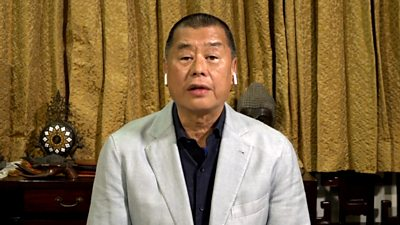 Media tycoon Jimmy Lai speaks to the BBC about Hong Kong