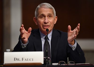 Fauci warns US could experience 100,000 daily coronavirus cases