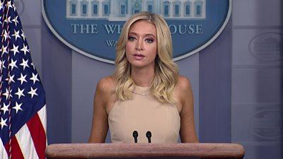 Press secretary Kayleigh McEnany