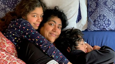 Gurinder Chadha and family