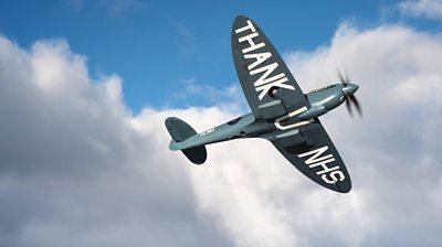 Thank U NHS Spitfire PL983 'L'