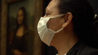 The Louvre reopens with a one-way system and compulsory masks.