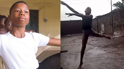 11-year-old Anthony Mmesoma Madu is challenging ballet stereotypes.