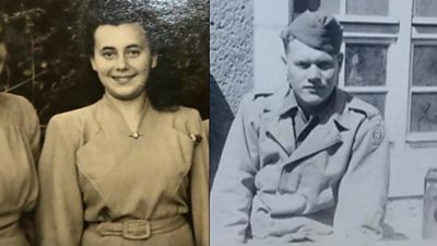 Holocaust survivor reunites with soldier who liberated her