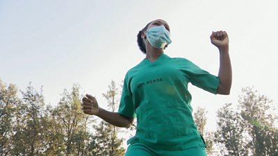 Zumba for Covid-19 medics