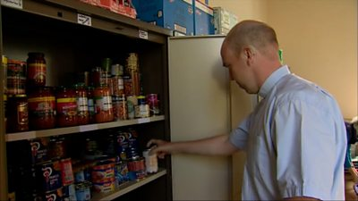 Food bank in Ceredigion