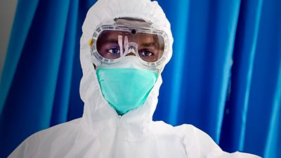Doctor wearing PPE