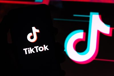 The Tik Tok logo