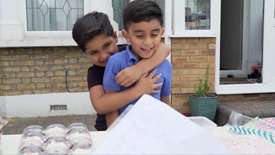 Ayaan and Mikaeel