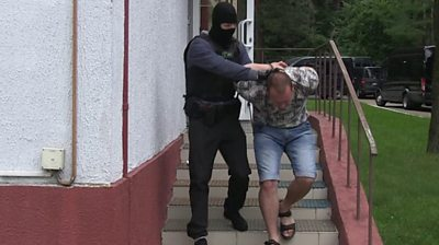 Arrest of Russian suspects in Belarus