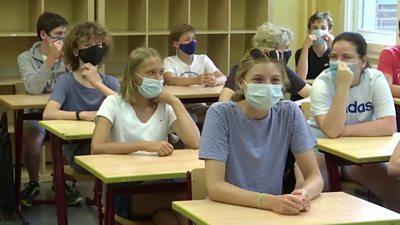 Berlin school students