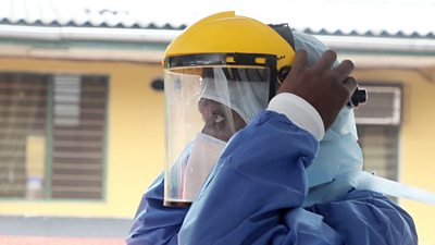 How Ebola prepared one doctor for Covid-19
