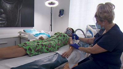 People who go to beauticians for medically related treatments have had to treat themselves in lockdown, and it's affecting every part of their life.