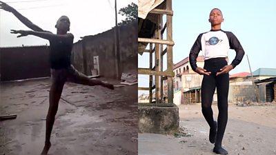 Anthony Mmesoma Madu dancing