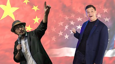 Comedians Jesse Appell in the United States and Tony Chou in China caught up online during the pandemic.