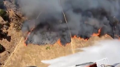 Wildfires are raging across Northern California, which were sparked by dry lightning during a heatwave.