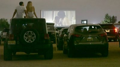 Why this black drive-in cinema is a big hit