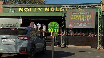 Molly Malone's restaurant in Johannesburg
