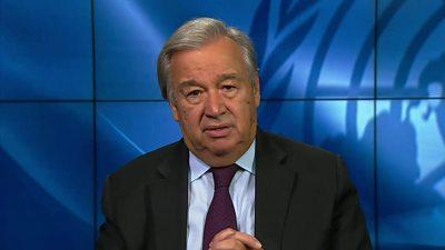 António Guterres, UN Secretary General